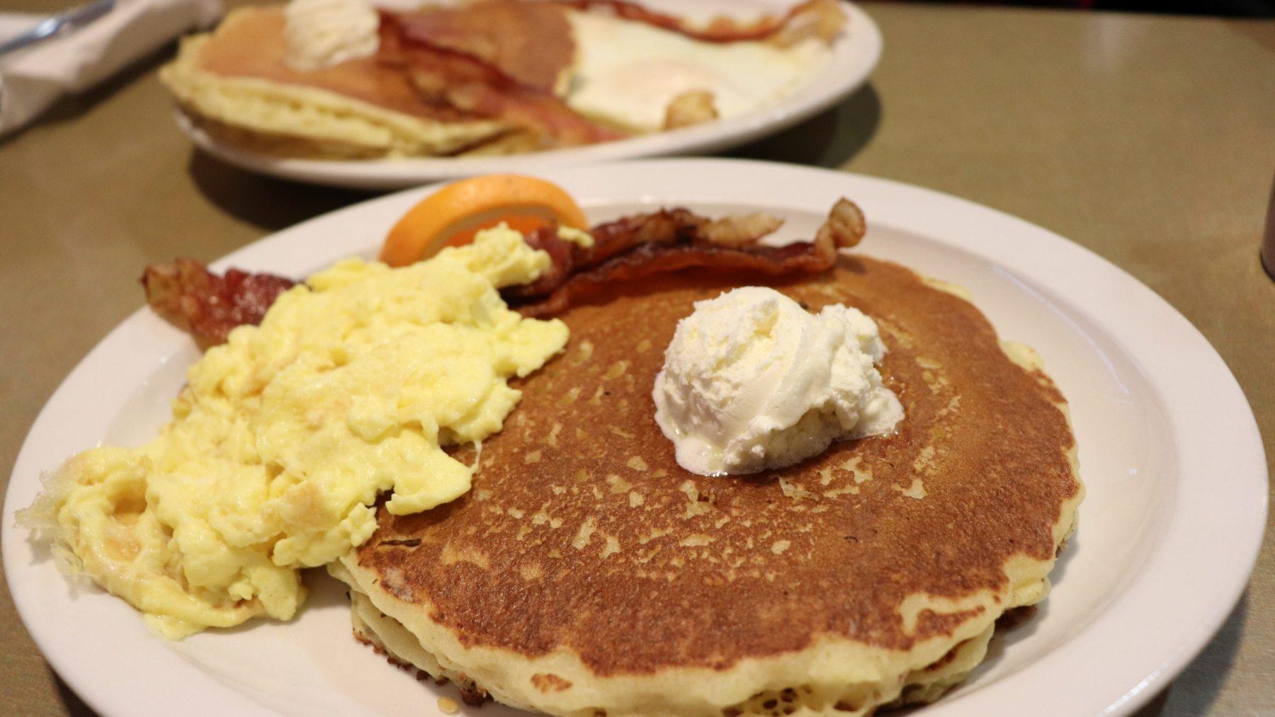 pancakes at ladysmith family restaurant rusk county wi