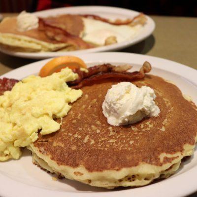 pancakes at ladysmith family restaurant rusk county wi