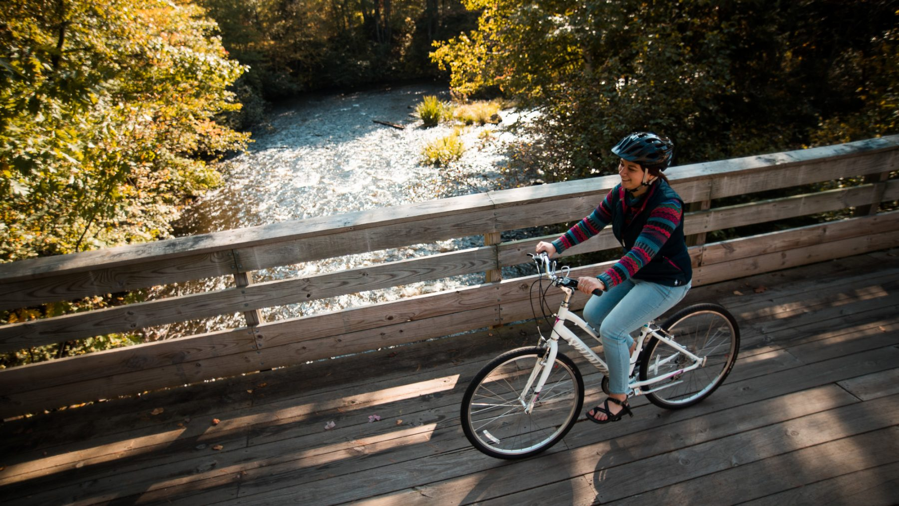 fall biking boulder junction wisconsin