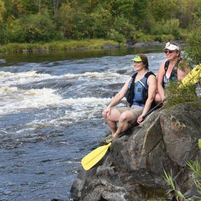 Flambeau river Rusk county