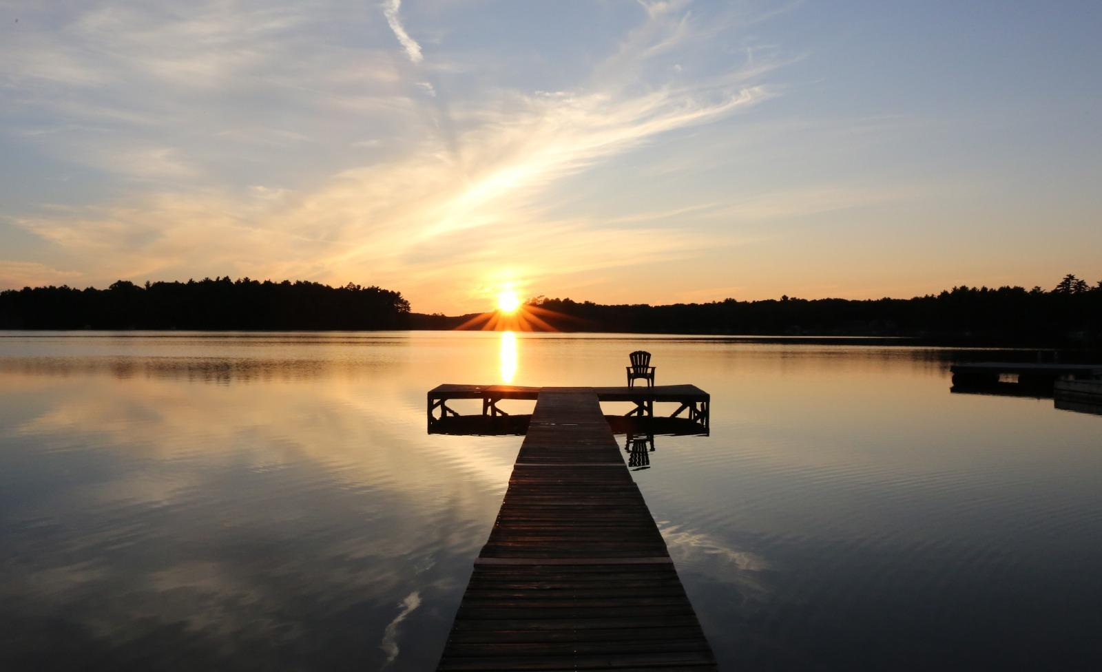 sunset lake thompson oneida county wisconsin