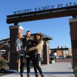 Wenzel family plaza Marshfield