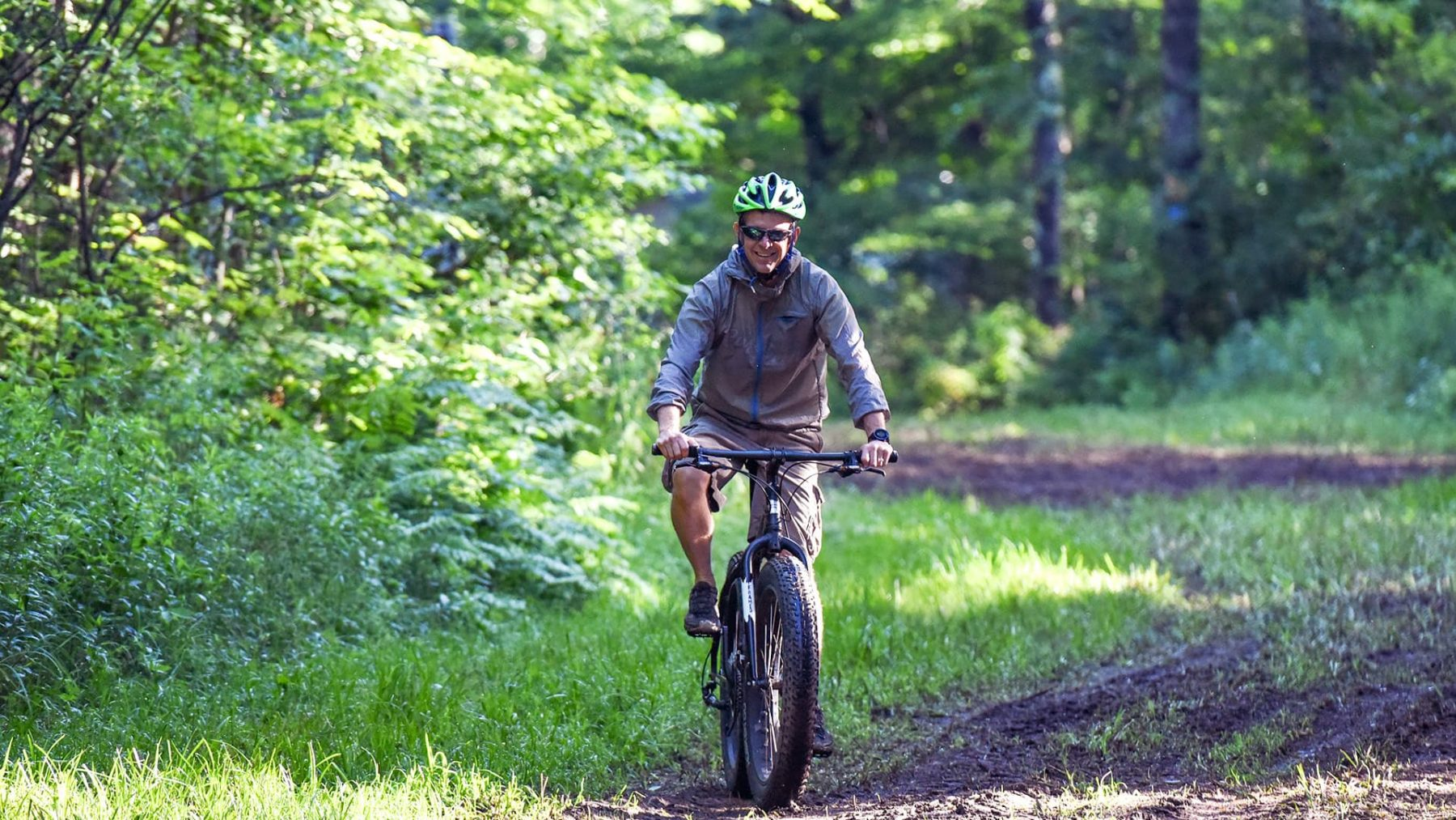 Biking in the Blue Hills Rusk County Wisconsin