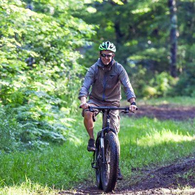 Biking in the Blue Hills Rusk County Wisconsin