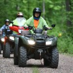 ATVing in the Blue Hills Rusk County Wisconsin