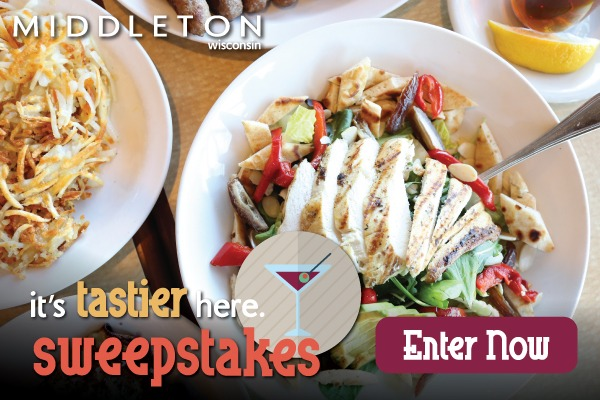 it's tastier here. sweepstakes