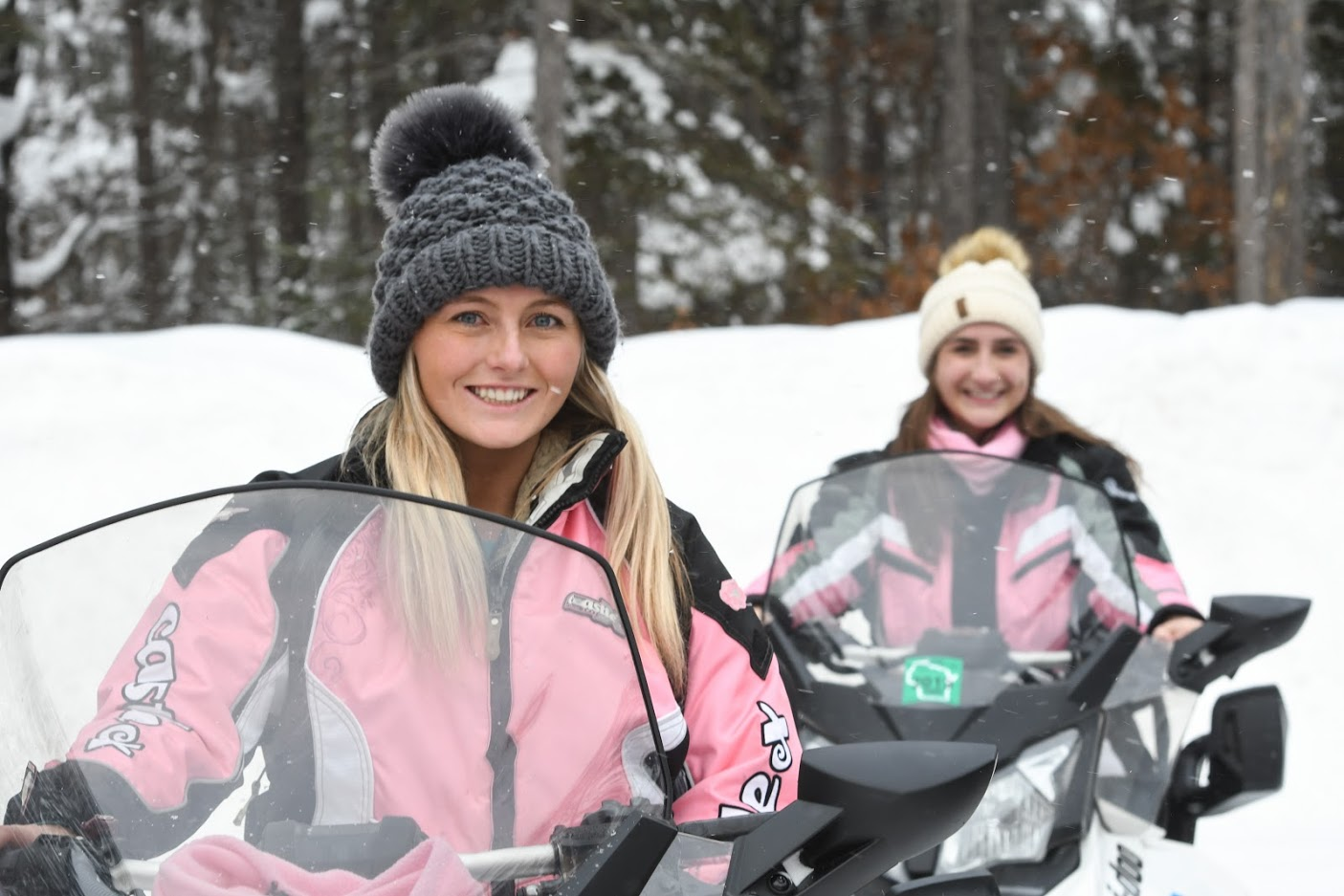 Snowmobiling in Boulder Junction WIsconsin