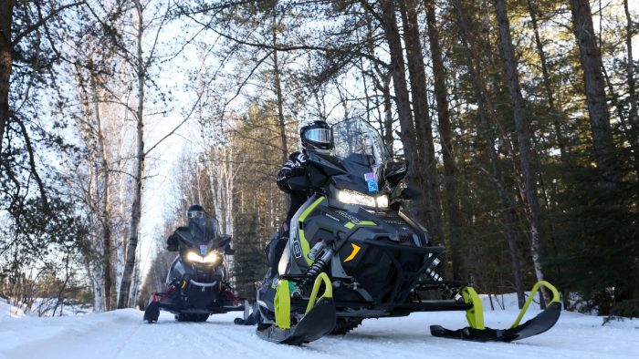 Snowmobiling in Oneida County Wisconsin