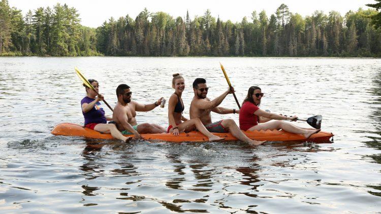 Kayaking in Boulder Junction Wisconsin