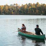 Canoeing in Boulder Junction Wisconsin