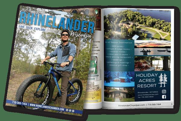 2021 Rhinelander Visitor Guide