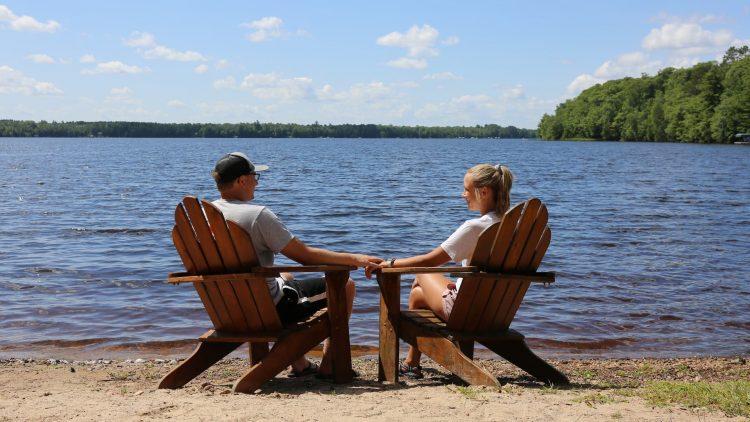Pitlik's Sand Beach Resort Vilas County Wisconsin