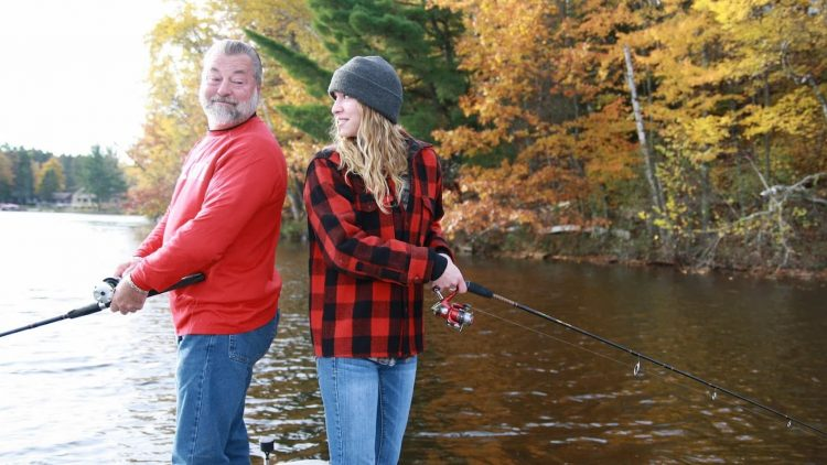 Fall fishing in Oneida County Wisconsin